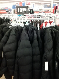 cheap coats at Walmart