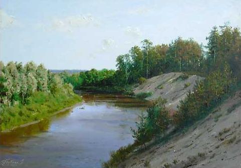 Vladimir Hrubnyk painting