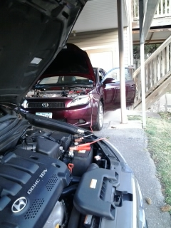 Jump Starting my car
