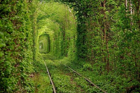Ukraine's Tunnel of Love
