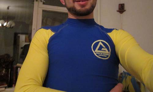Gracie Barra BJJ Kyiv rash guard