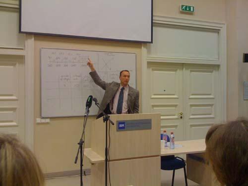 Professor Guido Hulsman Vilnius