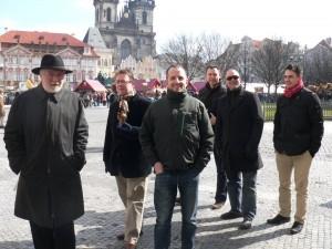 Friends in Prague, March 2013.