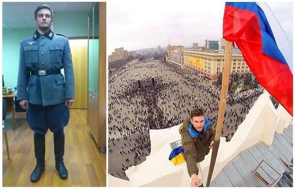Maidan-1-Mar-nazi-fetishist-who-raised-flag-in-Kharkiv