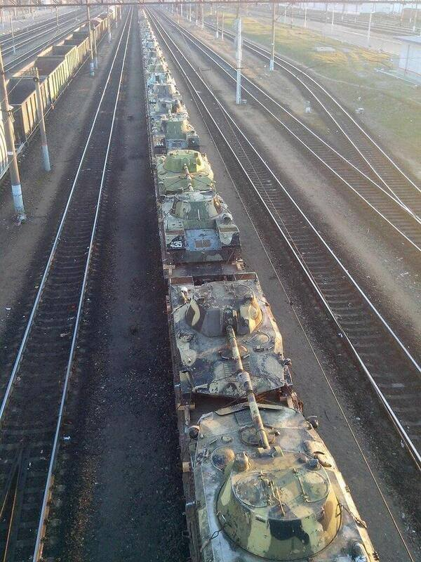 Tanks-in-Bryansk-Russia