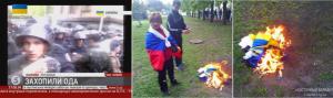 Ukrainian-Flag-Burned-in-Luhansk