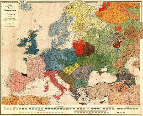 1918-ethnographic-map-europe
