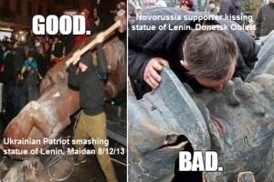 ukr-nationalist-vs-lenin-kissing-dpr