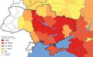 Holodomor Map