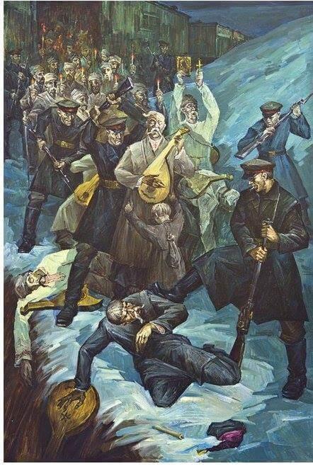 Ukranian Bandurists - U.P.A. Songs - Ukranian Freedom-Fighter's Songs