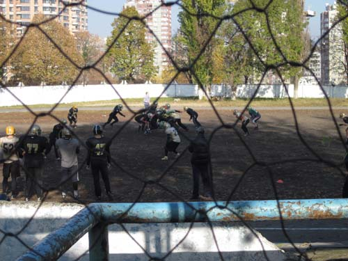 American football in Ukraine